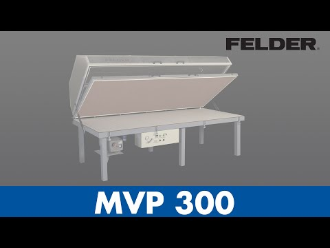 FELDER® - MVP 300 - Membrane press (English)