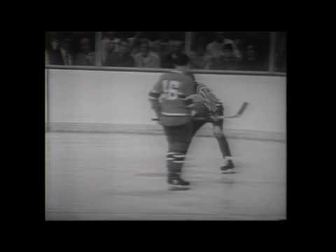 Canadiens-Bruins classic matchup 1969