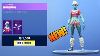 *NEW* SUGARPLUM SKIN IN SHOP! Fortnite Battle Royale!