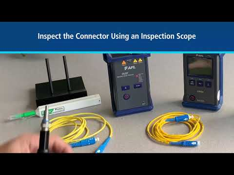 Basic Optical Loss Testing Using an Optical Power Meter and Light Source (1-Jumper Method)