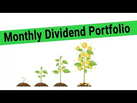 HUGE Monthly Dividends from an ETF Portfolio - Building a High Dividend Portfolio for 2019