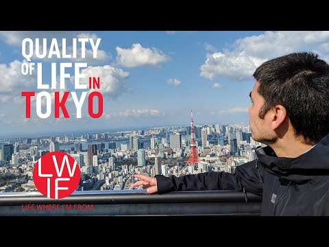 Japanese Quality of Life My Family's Experience in Tokyo