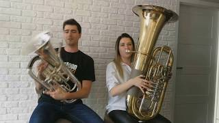 Despacito Luis Fonsi, Daddy Yankee - Double Brass Euphonium Tuba Cover.mp3