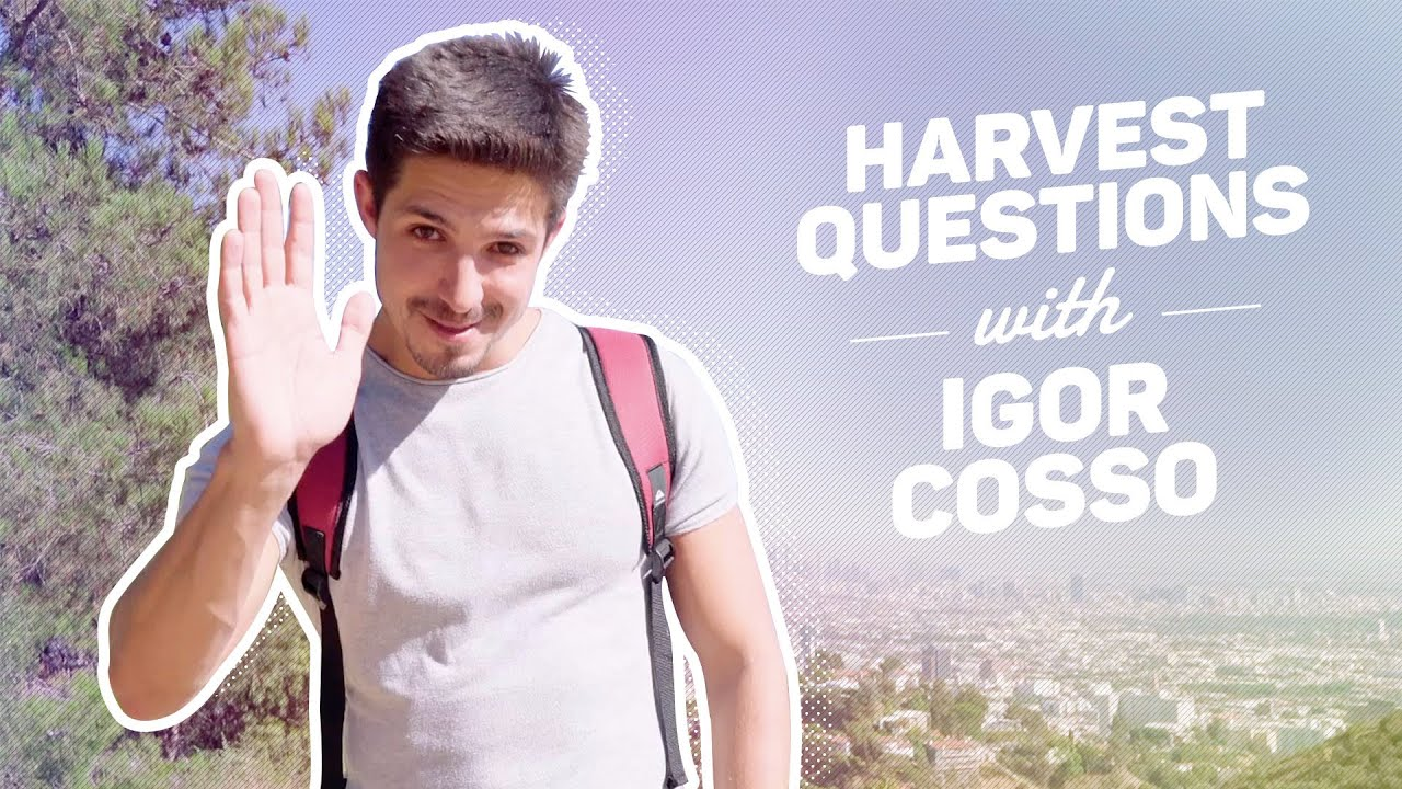 Harvest Questions With Igor Cosso Youtube