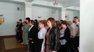 5.05.2017-Финал республиканского поэтического интернет-марафона к 9 мая в библиотеке, Донецк