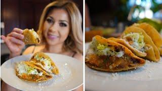 HOW TO MAKE THE BEST TACOS DORADOS AND SALSA   CRUNCHY  TACOS