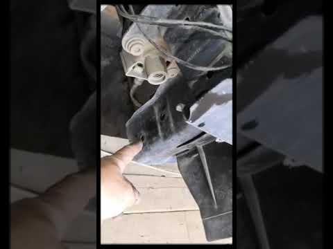 Замена радиатора охлаждения шкода фабия