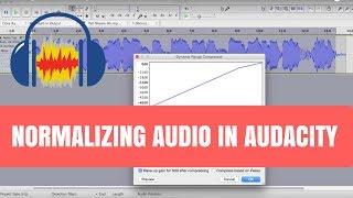 Normalizing Audio in Audacity