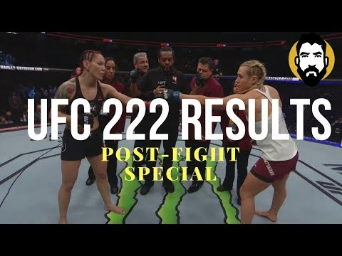 UFC 222 Results: Cris Cyborg vs. Yana Kunitskaya | Post-Fight Special | Luke Thomas