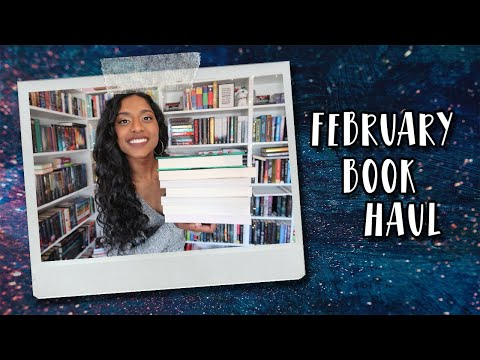 FEBRUARY BOOK HAUL | memoirs, sequels, poetry, and more!