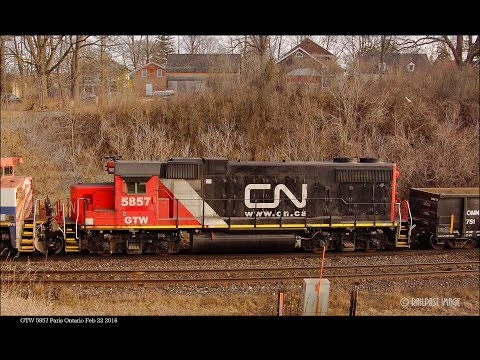 RAILREEL Paris - Ayr Ontario Feb 22 2016