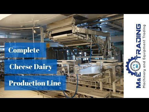 Complete Production Line For Soft Cheese With WALDNER And ALPMA Equipment