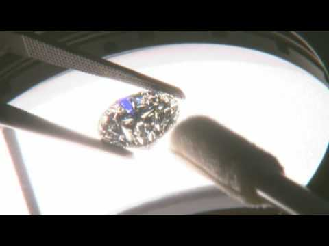 Learn how a Diamond is graded based on the 4 C's created by the Gemological Institute of America.
