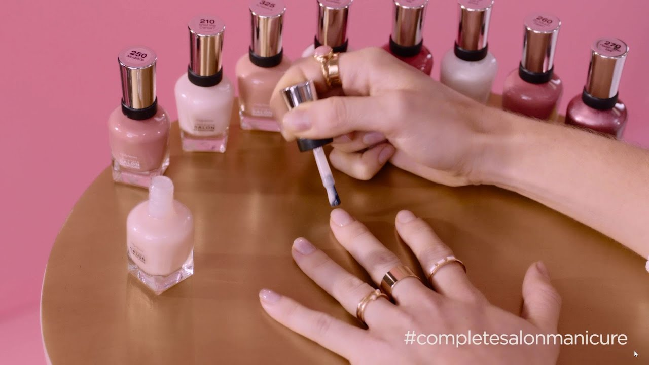 NEW Complete Salon Manicure with Keratin Complex - Madeline Poole ...
