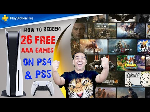 How to Redeem Free 26 AAA Games | Difference Between PS4 & PS5 PS Plus Membership | #NamokarGuide