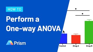 How To Perform A One-way ANOVA In Prism