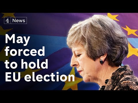 Government admits UK must take part in European elections