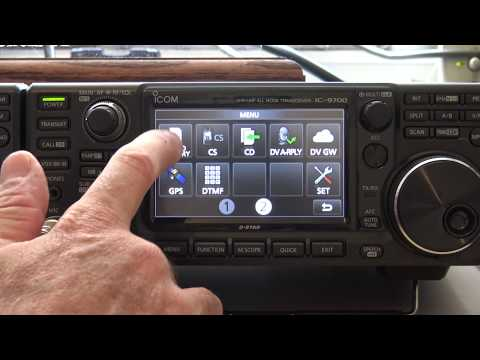 Icom Ic-9700 Dstar Setup And Features