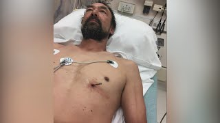 Man drives himself to hospital with nail in heart