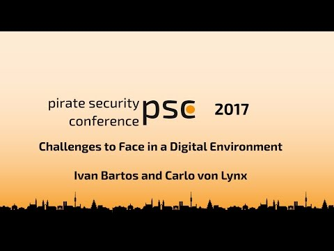 Challenges to Face in a Digital Environment - Ivan Bartos and Carlo von Lynx #psc17