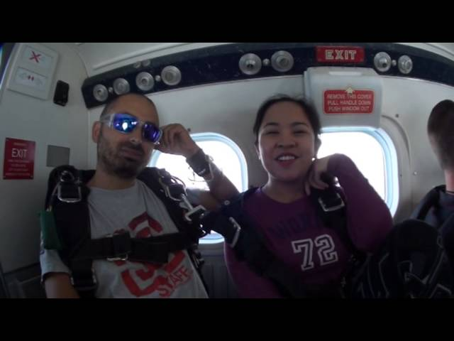 Jumping Jill - Skydive Dubai - 28th of Oct 2013 Travel Video
