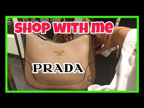 Shop With Me   Prada Bags   Outlet Prada Bags 2020
