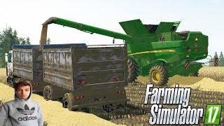 Rolnik  na Euro Farms #1 ☆Żniwa jęczmienia i Odpowiedzi na pytania! ☆ FS17 ㋡ Tanas