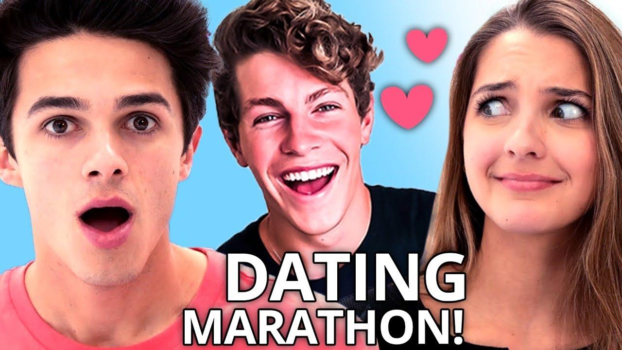 Ben Azelart and Brent Rivera Find LOVE?! | Ultimate DATING Compilation