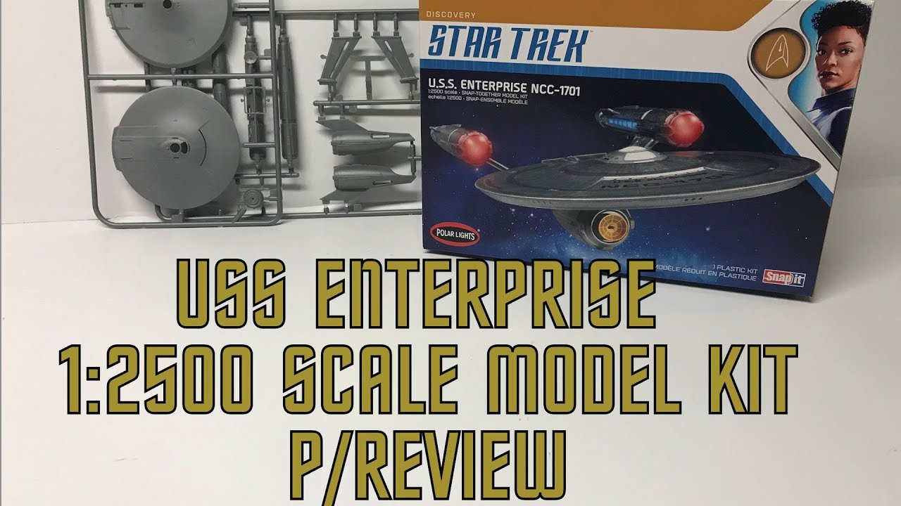 UNBOXING! Star Trek USS Enterprise (Discovery version