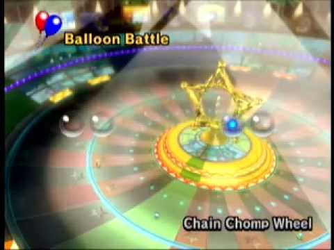 Mario Kart Wii Music Chain Chomp Roulette Chain Chomp Wheel Hurry Up Youtube