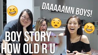 Video MV REACTION | #BOYSTORY#《HOW OLD R U》MV ,Real!project第一弹 download MP3, 3GP, MP4, WEBM, AVI, FLV Mei 2018