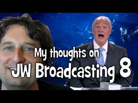 My thoughts on jw broadcasting 8 with stephen lett tv jw org