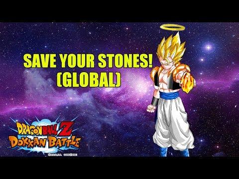 SAVE YOUR DRAGON STONES FOR INT SUPER GOGETA! (GLOBAL) Dragonball Z Dokkan Battle