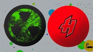 agar hero vs tyt agar io clanwar insane agario gameplay