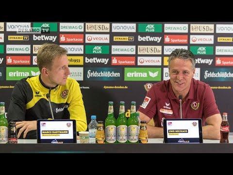 14. Spieltag | SGD - FCK | Pressekonferenz vor dem Spiel