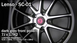 Lenso-SC01, dark grey