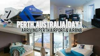 Gambar cover Perth, Australia Trip | Day 1 Arriving Perth Airport & Airbnb