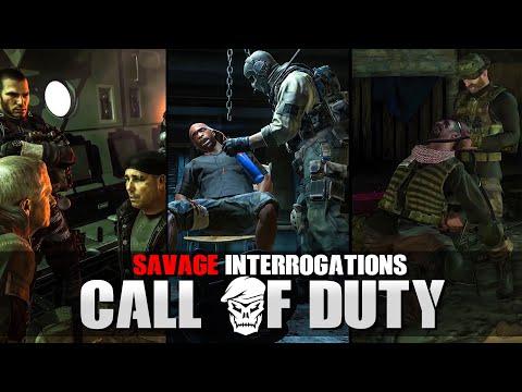 Most SAVAGE Interrogations in Call of Duty【 Modern Warfare - Black Ops Cold War 】 |