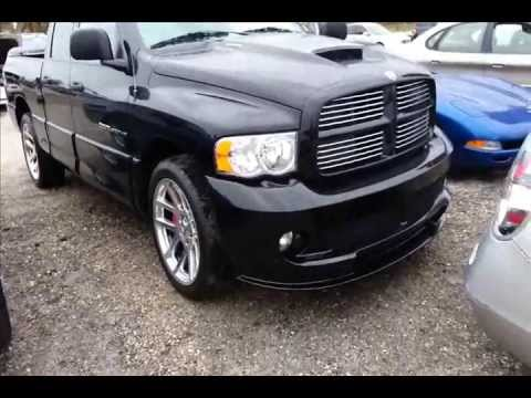 Dodge Ram Srt10 Quick Walk Around The Viper Pickup Truck