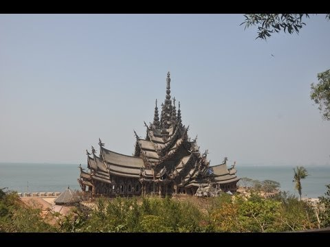 Храм Истины в Паттайе!!! Sanctuary of Truth in Pattaya!!! Экскурсии с pattaya-cheap-tour.ru