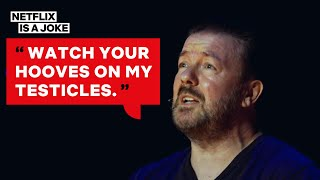 A Weirdo Trolled Ricky Gervais But Truly Missed the Point | Netflix Is A Joke