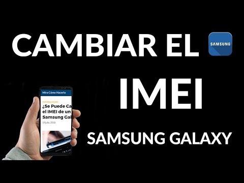 ¿Se Puede Cambiar el IMEI de mi Samsung Galaxy?