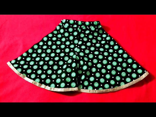 How to cut and stitch Divided Umbrella skirt