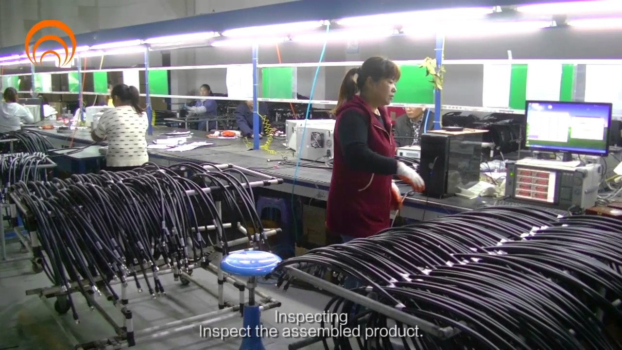 Cable Assemblies Process : Rf jumper cable production process sanyuan group youtube