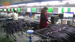 RF Jumper Cable Production Process - Sanyuan Group