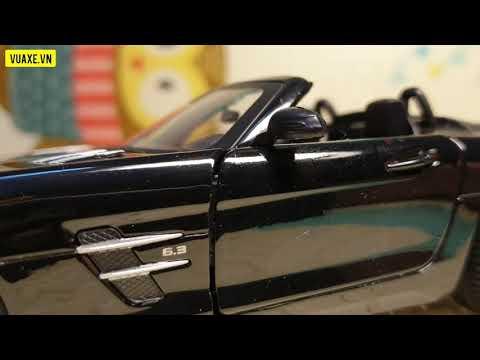 2022 Mercedes-Benz SLS AMG mui trần thể thao phong cách – Mô hình kim loại 1:24