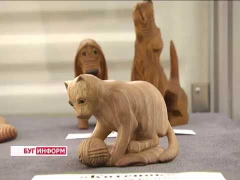 2016-05-25 г. Брест. Выставка творческих работ  И. Ефимика. Новости на Буг-ТВ.
