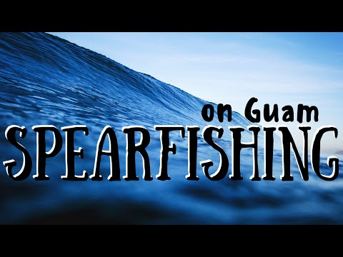 Spearfishing on Guam with Rob