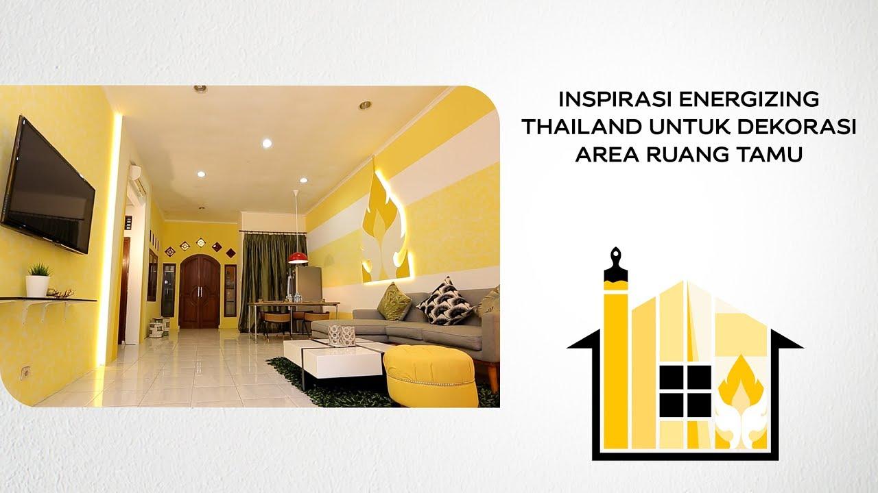 Ide Dekorasi Ruang Tamu Bertema Thailand Dengan Nuansa Kuning Let S Colour Part 2