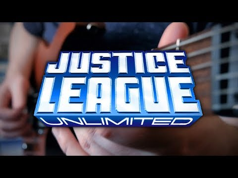 Justice League Unlimited Theme on Guitar